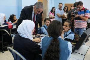 افتتاح برنامج التطوير الشامل في 15 مدرسة في القدس