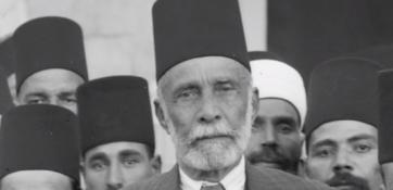 موسى كاظم الحسيني، والد عبد القادر الحسيني وجد فيصل الحسيني