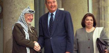 شيراك يعزي عرفات بوفاة الحسيني باريس