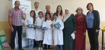 مؤسسة فيصل الحسيني تحتفل بتكريم الطلبة المشاركين بنادي العلوم
